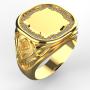 Pánský prsten Monika 0002 žlutý