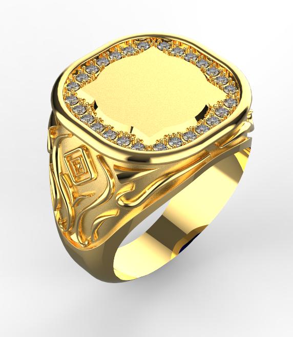 359aab8b559 PÁNSKÝ ZLATÝ PRSTEN 057 - Výroba šperků