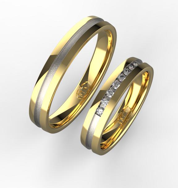 Zlate Snubni Prsteny 055 Vyroba Sperku