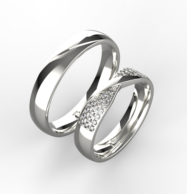 Stribrne Snubni Prsteny 087 Vyroba Sperku