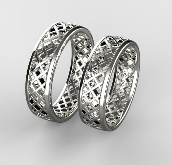 Stribrne Snubni Prsteny 088 Vyroba Sperku
