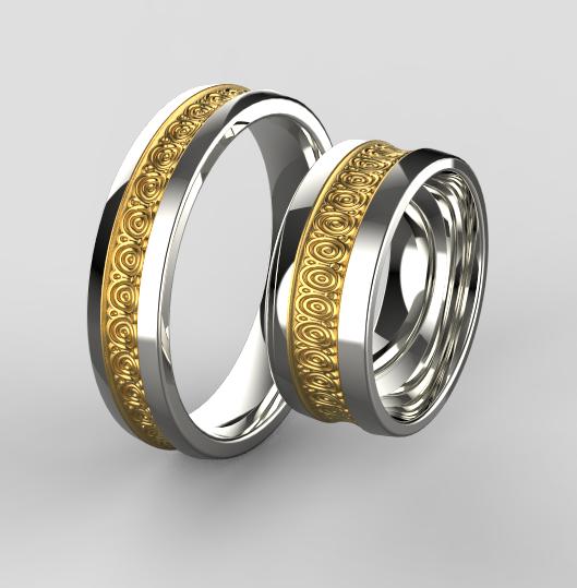 Zlate Snubni Prsteny 071 Vyroba Sperku