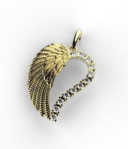 srdce křídlo 1